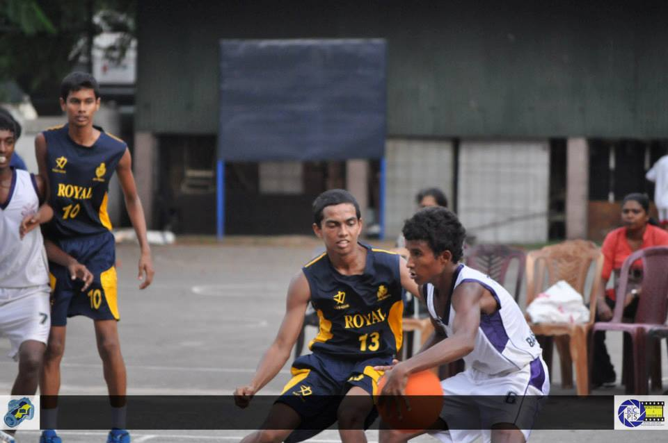 Basketball Colombo South Zonal Finals 2013