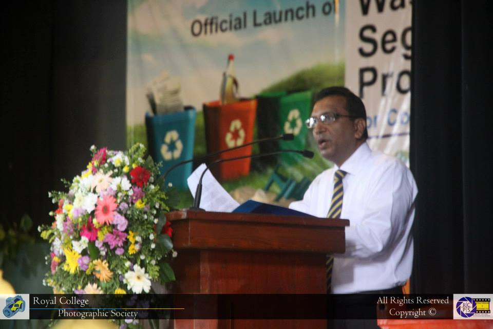 Launch of the Waste Segregation Program for Colombo Schools