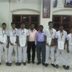 The U-19 Senior Carrom Team