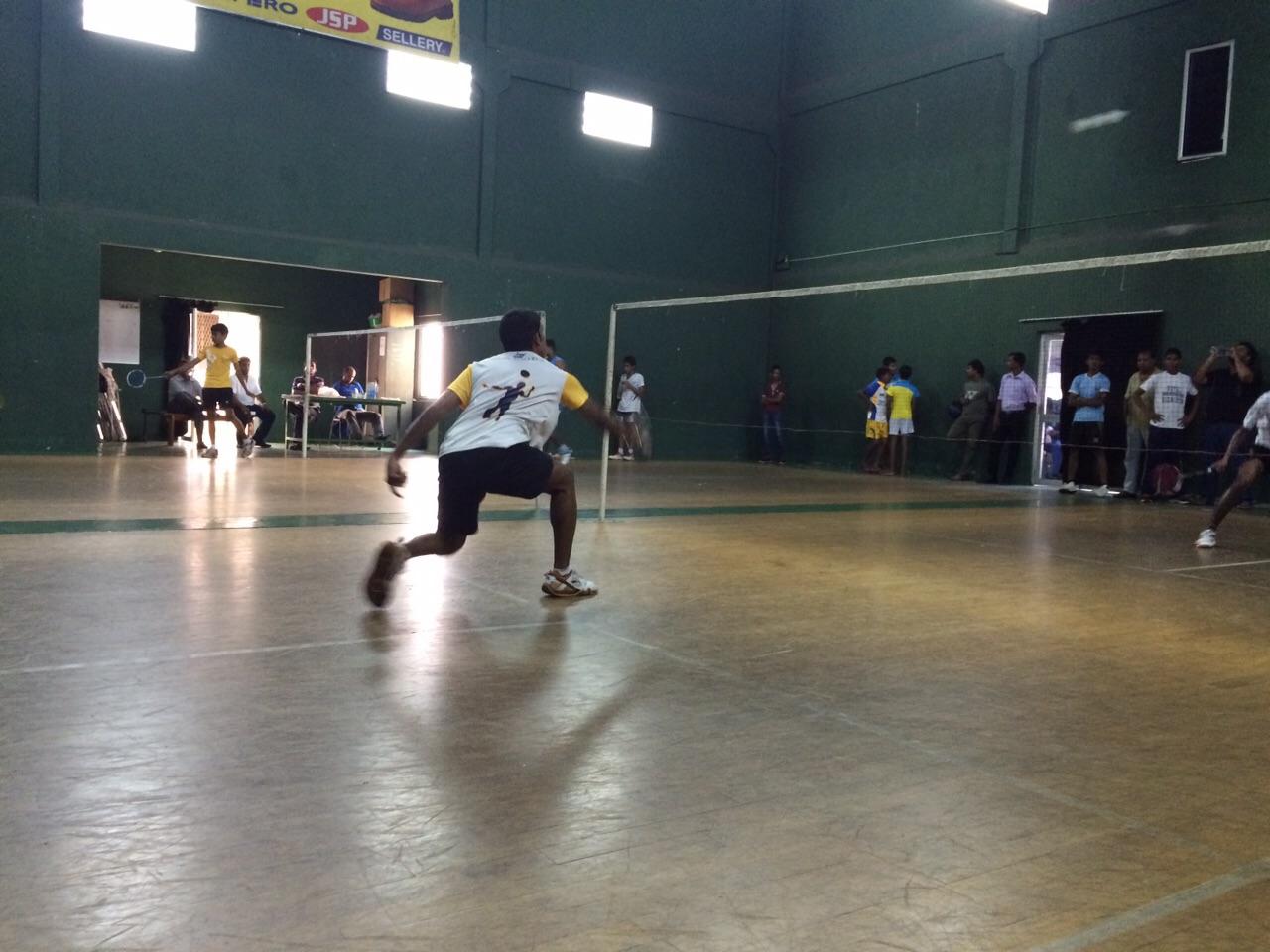 Western Province Inter Schools' Badminton Championship 2015