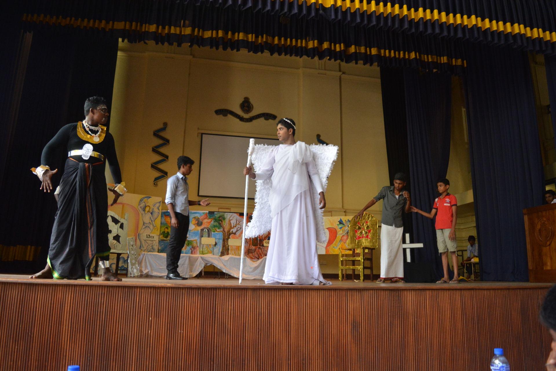 inter school drama - Tamil dramatic